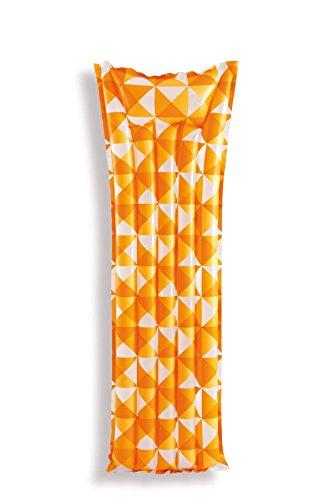 Intex- Colchoneta Mosaico, Color Turquesa/Naranja/Verde, 183 x 69 cm, 59712