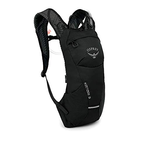 Osprey Katari 3 Men's Hydration Pack with 2.5L Hydraulics™ LT Reservoir - Black (O/S)