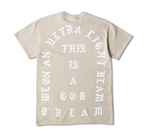 AA Apparel I Feel Like Pablo Short Sleeve Shirt Life of Pablo (Large, Sand)