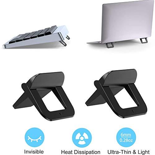 Laptopstander Notebook stander Universal Kuhlung Laptop Halterung Riser Demontierbar mit Beluftung Tragbarer Notebook Stander fur Laptop