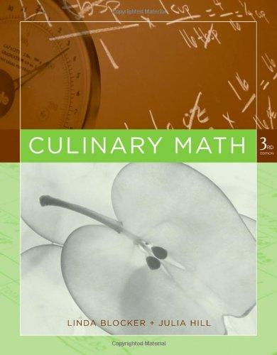 Culinary Math