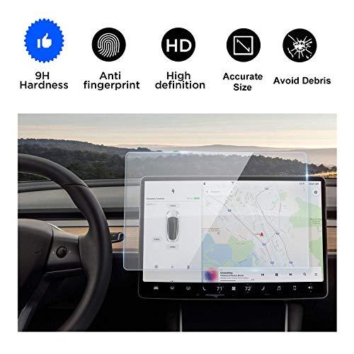 Volwco Tesla Model 3 - Protector de Pantalla antirreflejos para Coche