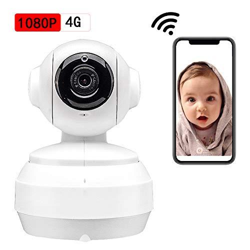 1080p FHD 4G bewakingscamera, WLAN IP-huisdier, camera, baby/huisdier/thuis, videobewaking