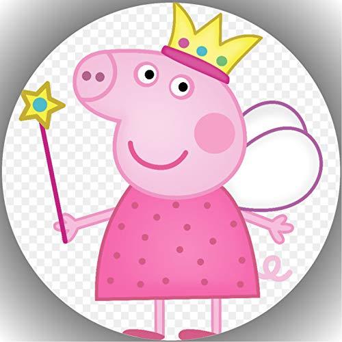 Fondant Tortenaufleger Tortenbild Peppa Pig N3