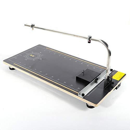 30W Máquina de corte de espuma Tablero Esponja Espuma de alambre caliente Fábrica de espuma de poliestireno Herramienta de mesa de soporte de trabajo