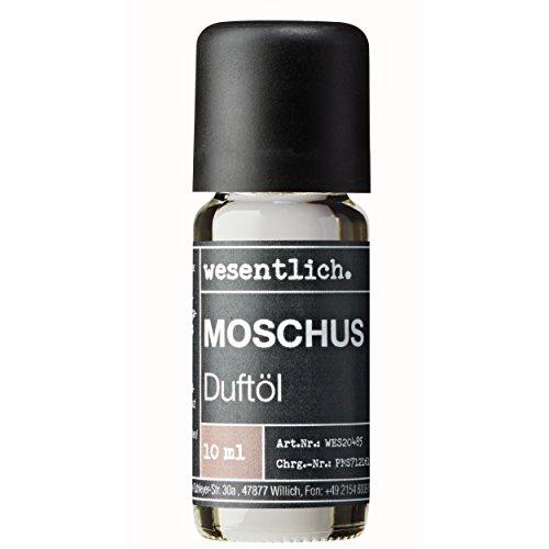 Duftöl Moschus - Aromaöl u.a. für Duftlampe und Diffuser - Premium Raumduft von wesentlich. (10ml)