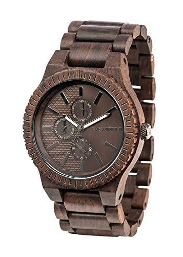 WEWOOD Men's Kos Choco Gun Chronograph Indian Rosewood Watch