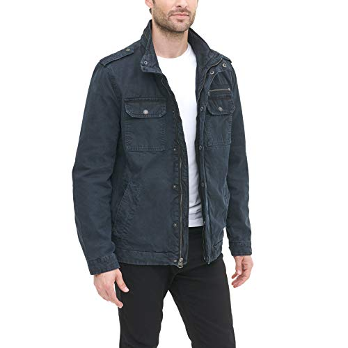 Levi's Men's Washed Field Jacket Navy