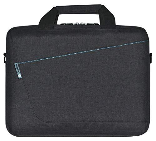 "CoolBox COO-BAG14-1 maletines para portátil 35,6 cm (14"") Bandolera Negro, Azul - Funda (Bandolera, 35,6 cm (14""), Negro, Azul)"