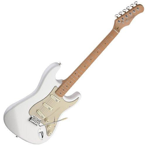 Stagg 25020871 SES50M-CWH S Servint. Guitarra eléctrica del estilo blanco