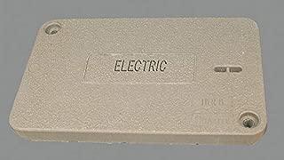 Quazite PG Underground Enclosure Cover, Electric, For Use With 20-1/4 x 13-3/8 Enclosure - PG1118CA0017