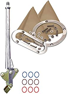American Shifter 532006 Shifter (4L80E 23 Swan E Brake Cable Trim Kit for F608E)