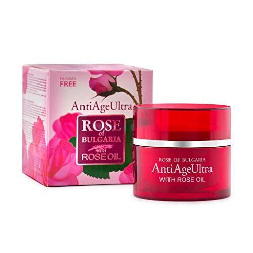 BIOFRESH ROSE OF BULGARIA Anti-Falten Nachtpflege und Tagespflege Creme mit Rosenöl, Q10, Vitamin...