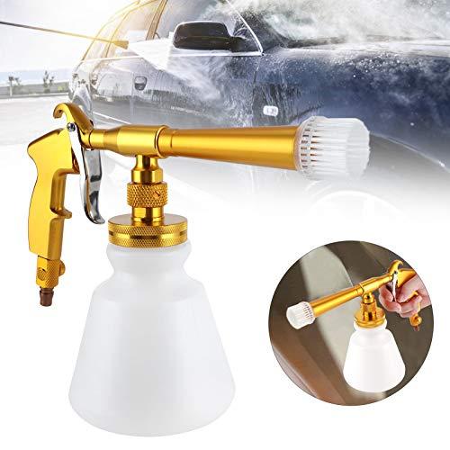 Pistola rociadora de agua, rociador ergonómico de alta presión para lana limpia para tableros limpios para interiores de cuero de automóviles limpios para automóviles Interior de automóviles(Golden)
