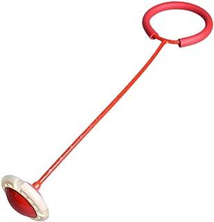 LIOOBO Anillo de Salto Intermitente Bola de Salto Intermitente Bola de Salto de Tobillo Bola de Swing Deportiva Colorida Cuerda de Salto de Fitness para Adultos y niños