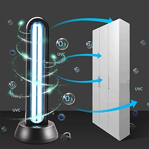38W UV-kiemdodende lamp Geïntegreerde UV-kiemdodende lamp, draagbare UV-sterilisator met desinfectie van ozon-kwartsbuis, gebruikt in huisdierruimte, koelkast, toilet