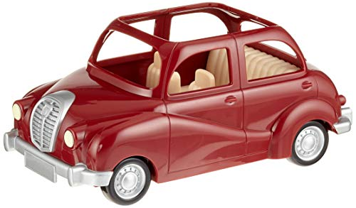 SYLVANIAN FAMILIES- Family Saloon Car Mini muñecas y Accesorios, Multicolor (Epoch 5270)
