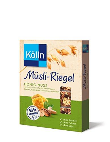 Kölln Müsli-Riegel Honig-Nuss, 11er Pack (11 x 100 g)