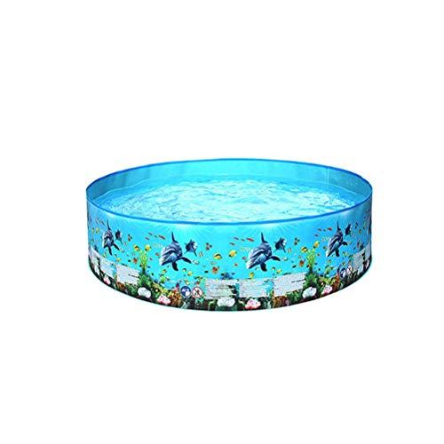 Eeauytr Piscina inflable para niños, piscina redonda para verano, juegos de piscina, piscina interior y exterior