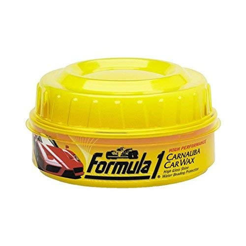 Formula 1 613762 Carnauba Paste Car Wax High-Gloss Shine - 12 oz.