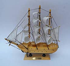 Happie Shopping Decorative Sailing Ship Showpiece(17x5x17cm)