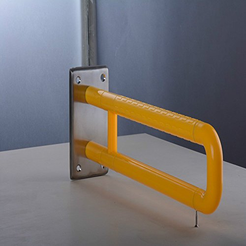 Olici MDRW-Bathroom Handrail Elderly Safety Barrier-Armrest Bathroom Toilet Pail Edge Grab Bars Nylon 600Mm Stainless Steel Handrail