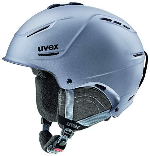 uvex Unisex– Erwachsene, p1us 2.0 Skihelm, strato met mat, 59-62 cm