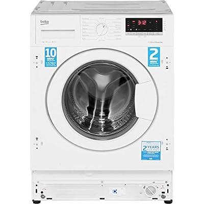 Beko WIR76540F1 Integrated 7Kg Washing Machine with 1600 rpm
