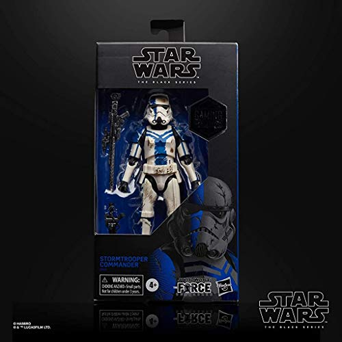 Star Wars Gaming Greats The Force Unleashed Stormtrooper Commander Exclusive The Black Series Action Figure