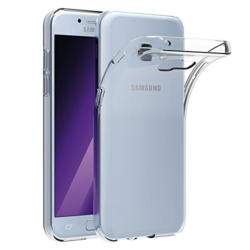 AICEK Cover Samsung Galaxy A5 2017, Cover Galaxy A5 2017 5.2 Pollici Silicone Case Molle di TPU Trasparente Sottile Custodia per Samsung Galaxy A5 2017