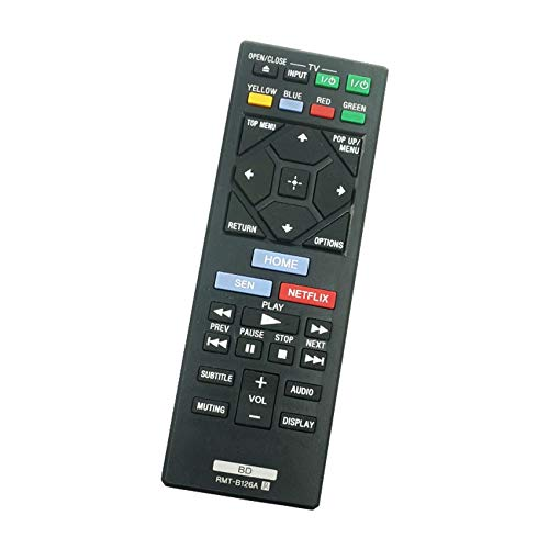 Calvas Original NEW Best Price Bluray Player DVD Remote Contrpol For Sony RMT-B126A RMT B126A