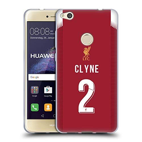 Head Case Designs Oficial Liverpool Football Club Nathaniel Clyne 2019/20 Jugadores Kit Local Grupo 1 Carcasa de Gel de Silicona Compatible con Huawei P8 Lite (2017)
