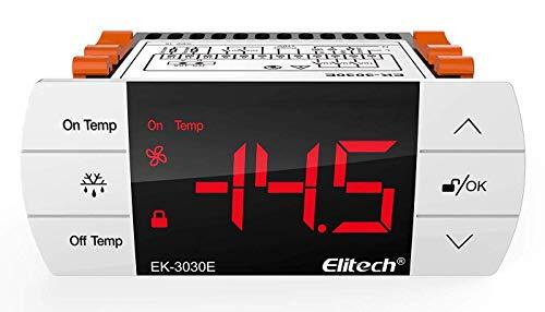 Elitech EK-3030E 220V Digitaler Temperaturregler Thermoelement -40 ℃ bis 90 ℃【1 Jahr Garantie】
