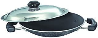 Prestige Omega Select Plus Residue Free Non-Stick Appachetty with Lid, 20cm