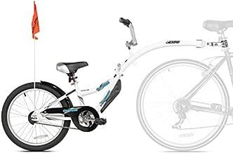 WeeRide Kazam Co-Pilot Bike Trailer, White