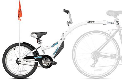 Wee-Ride Bike Trailer KAZAM Weeride Co-Pilot Fahrradanhänger weiß, 51 cm