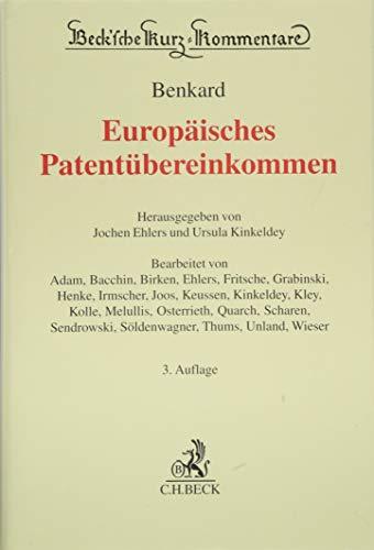 Europäisches Patentübereinkommen
