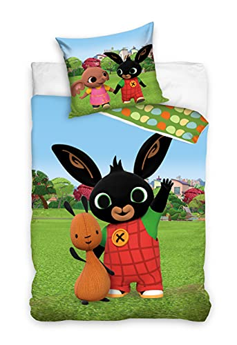 Bing Bunny BING201024 - Biancheria da letto per bambini, 100 x 135 cm
