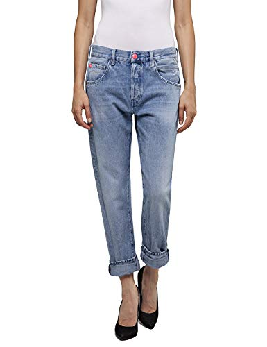 Replay Damen ROXEL Jeans, Blau (Light Blue 10), No Aplica/L28 (Herstellergröße: 30)