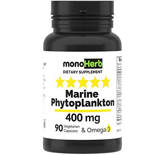 Marine Phytoplankton 400 mg - 90 Vegetarian Capsules