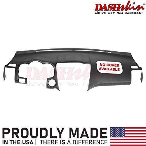 DashSkin Molded Dash Cover Compatible with 04-09 Lexus RX330 RX350 RX400h in Black (USA Made) w/o Center Speaker Holes
