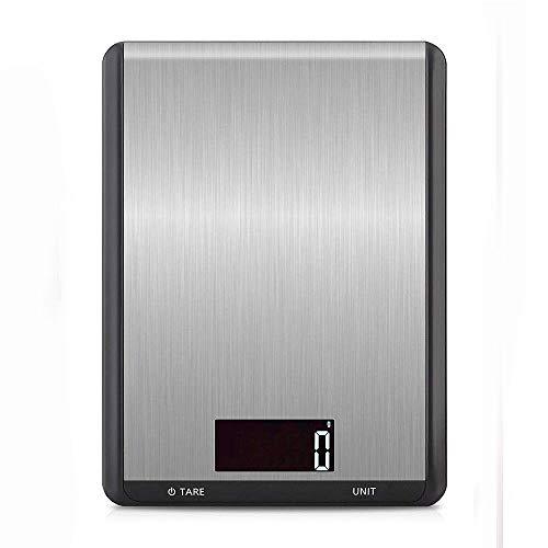 Küchenwaage,Laelr Digitalwaage Professionelle Waage Lebensmittelwaage Edelstahl Electronische Waage mit LCD Display (5000g/10000g/15000g)