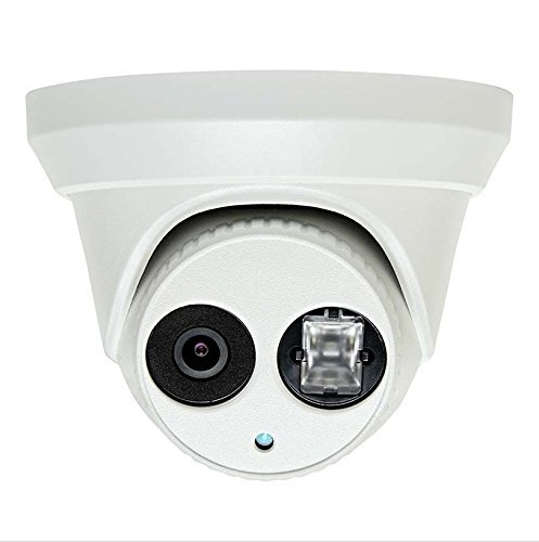 4MP PoE Security IP Camera - Turret,Indoor and Outdoor,Weather Proof,IR Night Vision, Wide Angle 2.8mm Lens,Best for Home and Business Security Compatible with Hikvision DS-2CD2343G0-I 3 Year warranty