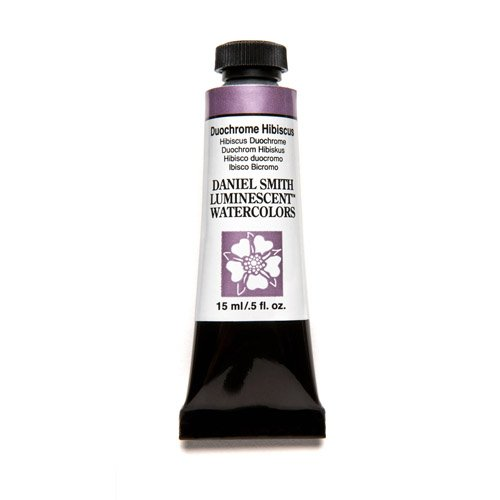 DANIEL SMITH Extra Fine Watercolor 15ml Paint Tube, Duochrome, Hibiscus