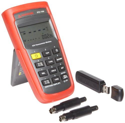 Amprobe RTD-10W Wireless Dual Input Digital RTD Thermometer