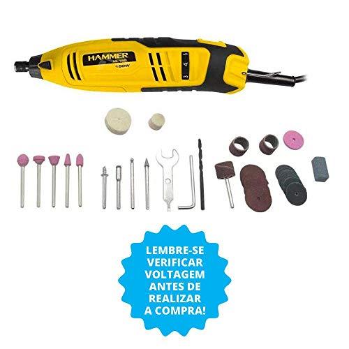 Kit micro retífica 150 watts 41 acessórios - GYMI150 - Hammer (110V)