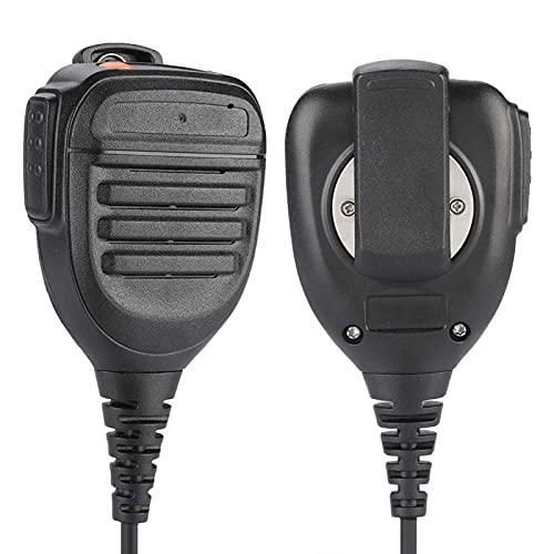 Vbestlife Micrófono de Mano, PTT de 3,5 mm Micrófono de Altavoz de Radio Walkie Talkie de Mano para YAESU FT1D FT1XDR FT2DR FT2XDR FT-50 FT-60 FT-10R FT-40R