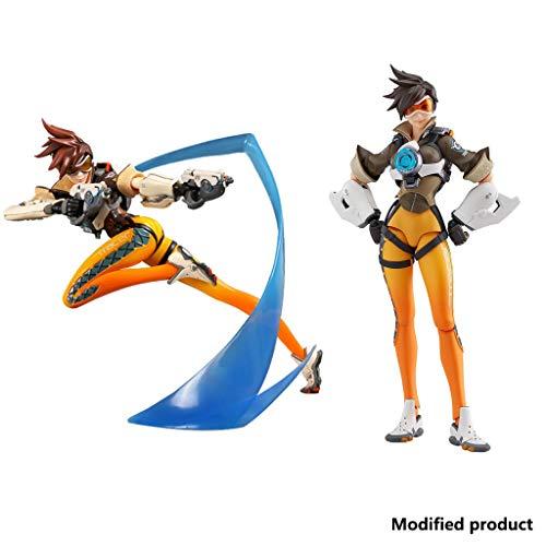 Siyushop Overwatch: Tracer Toy PVC Figur Statuen - Tracer Action Figure - 2er Set