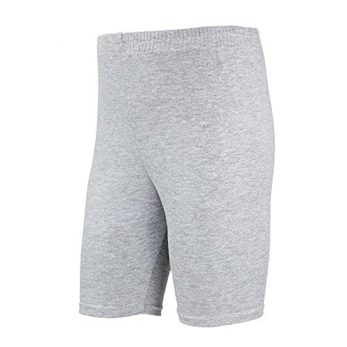 TupTam Mädchen Leggings Kurz Radlerhose, Farbe: Grau Meliert, Größe: 158