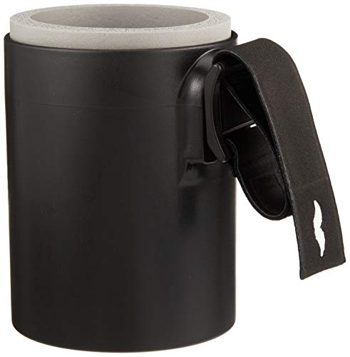 Dadding & Co. Original DaddieCaddie Cup Holder for Strollers, Golf Carts, Boats and Bikes – includes Mounting System – Discretely Holds 12 Oz. Beverage Cans for Happy Hour on the Go